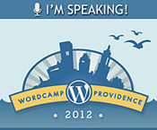 I'm speaking at wordpress